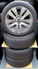 タイヤ付きアルミホイール|SUBARU