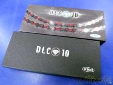 ドライブチェーン DLC10 レッド 10s用 KMC