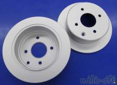 未使用品リア用ブレーキディスクローター2枚セット|DIXCEL