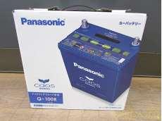 未使用品!Q-100R カーバッテリー|PANASONIC
