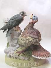 ワイルドターキー陶器 鷹と七面鳥1986|WILD TURKEY