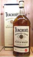 ティーチャーズ・ハイランドクリーム旧ボトル|Teacher's