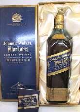 ブルーラベル 旧ボトル Johnnie Walker