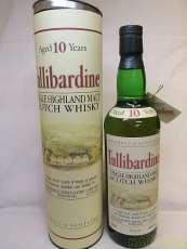 タリバーディン10年オールドボトル|Tullibardine