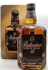バランタイン12年ゴールドシールリッター瓶|Ballantines