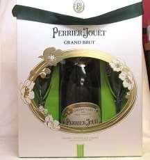 グランブリュット グラス2個付き|Perrier Jouet