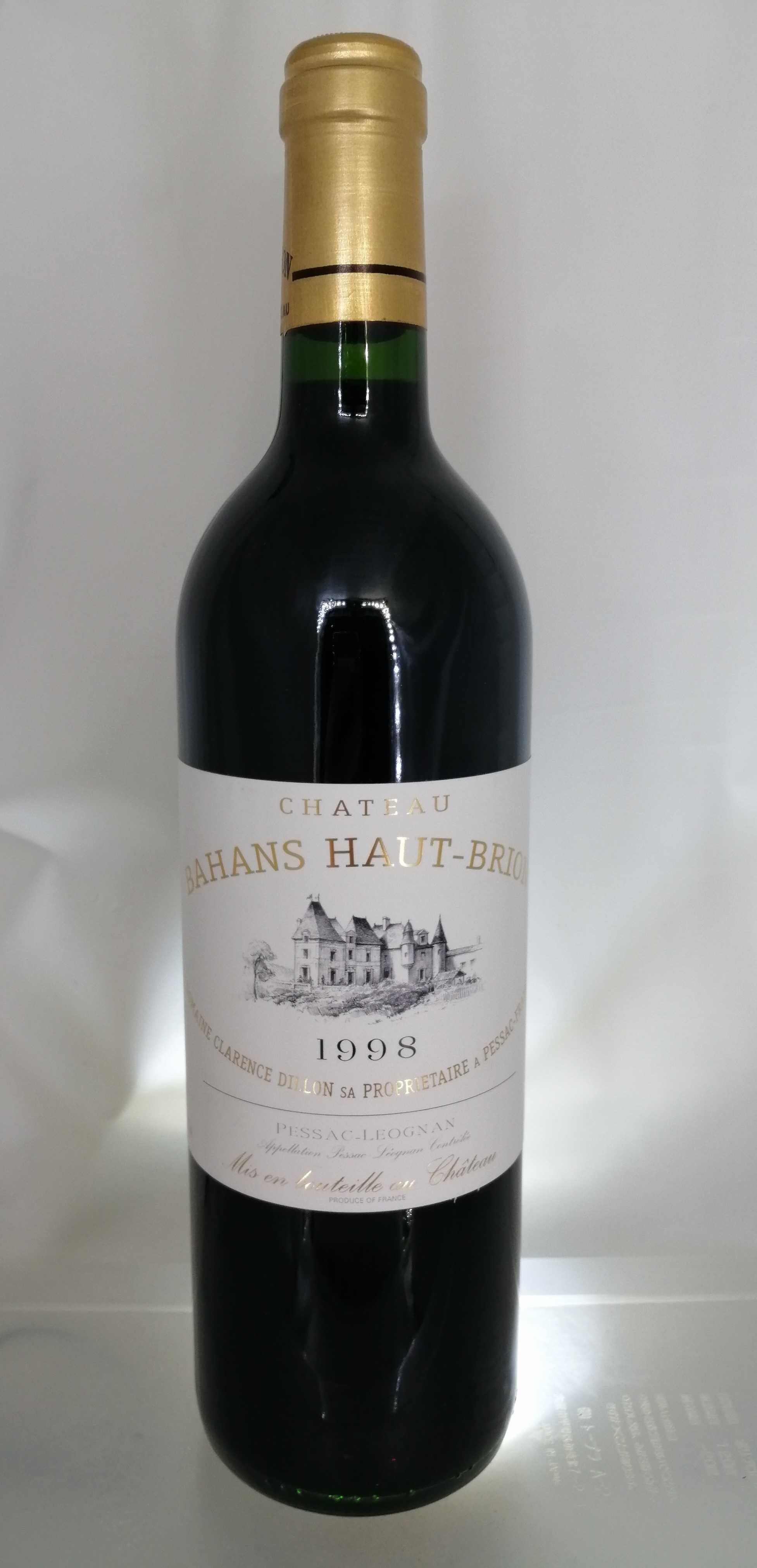 CH.バーン・オーブリオン1998 CH.HAUT-BRION