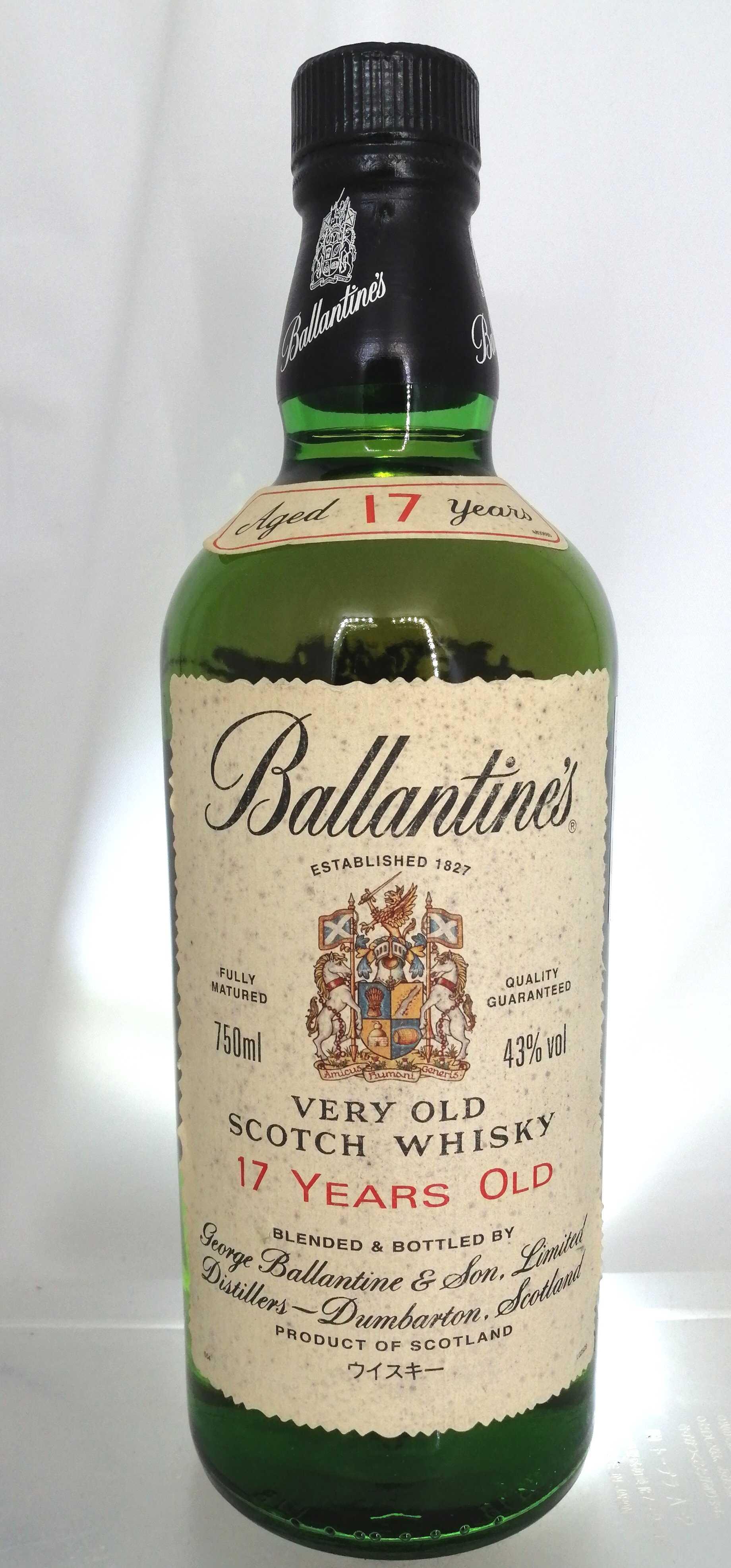 バランタイン 17Y BALLANTINE'S