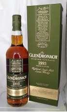 グレンドロナック マスターヴィンテージ 1993|Glendronach