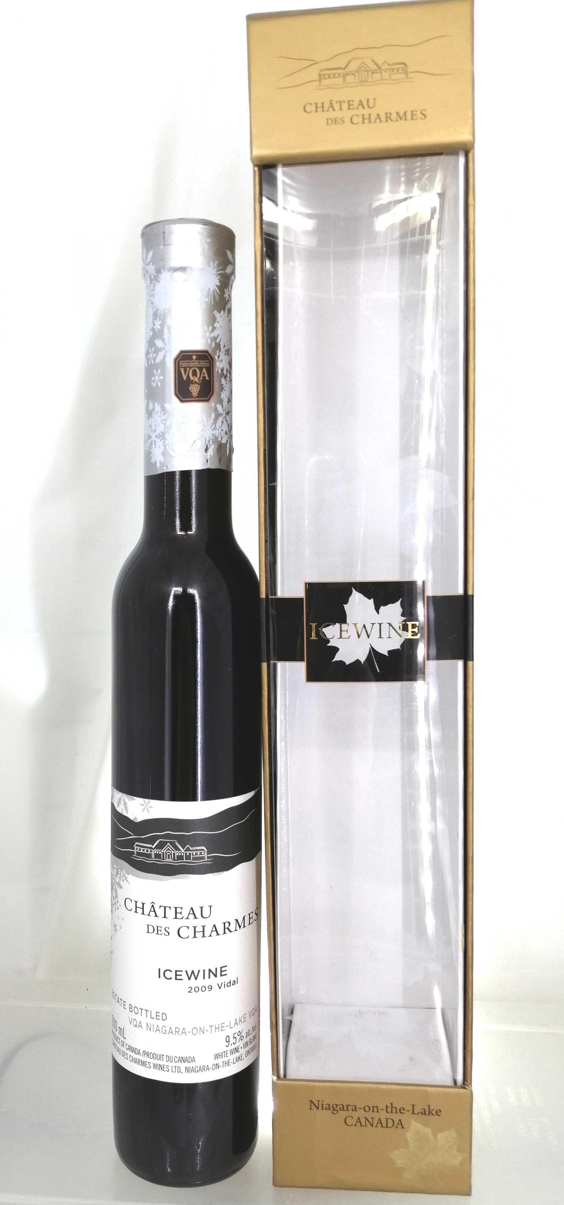 アイスワイン2009ヴィダル CHATEAU DES CHARMES