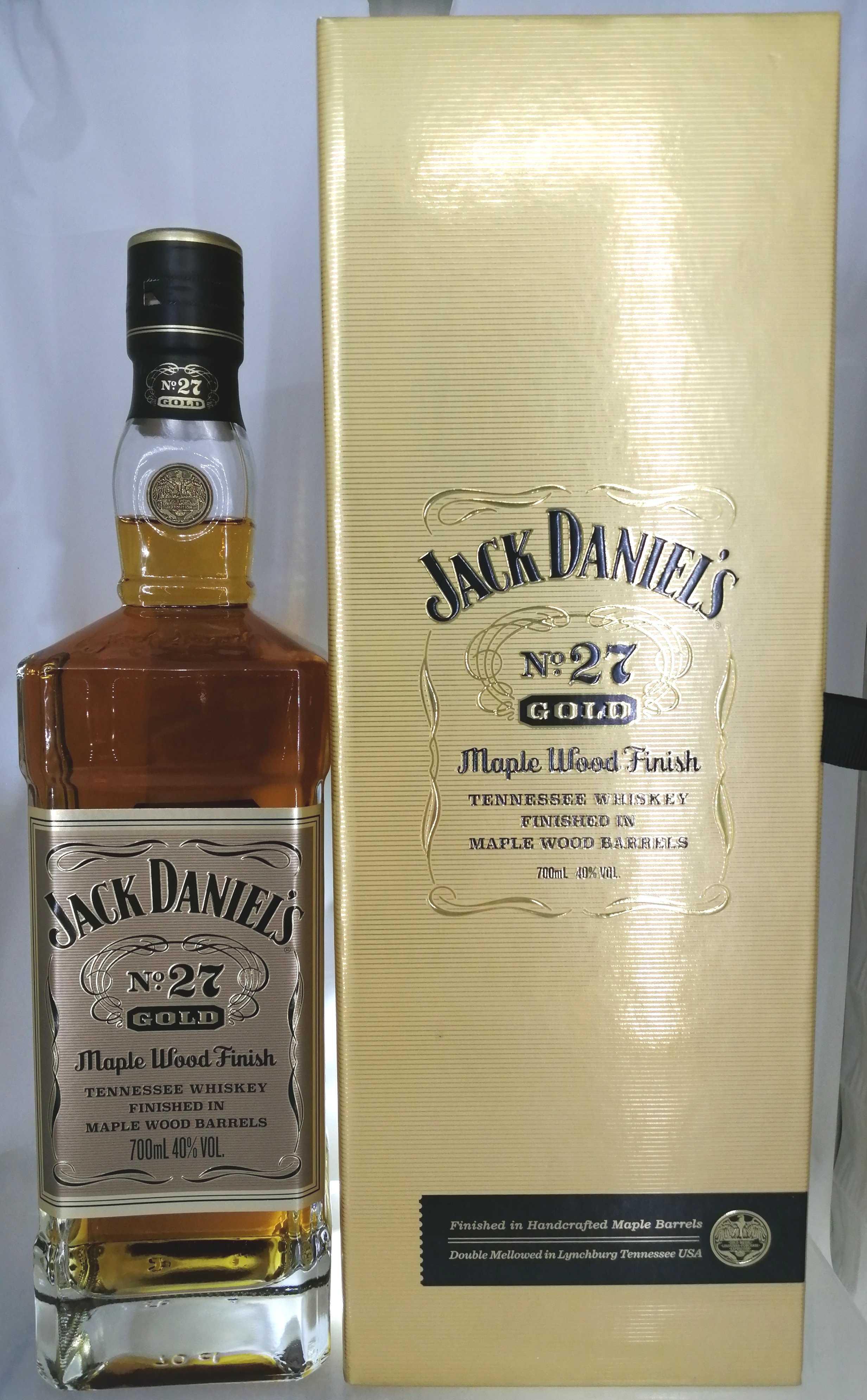 ジャックダニエル NO,27 ゴールド|JACK DANIEL'S