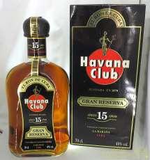 ハバナクラブ15年 グランレゼルヴァ|HAVANA CLUB
