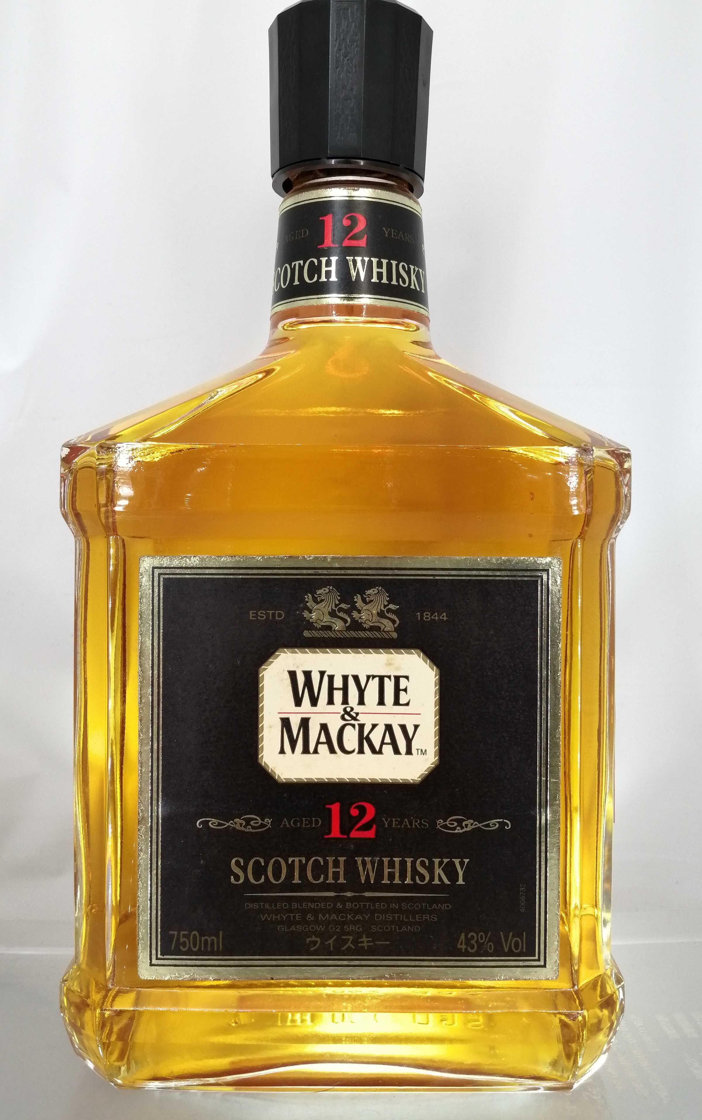 ホワイト&マッカイ12年 WHITE & MACKY