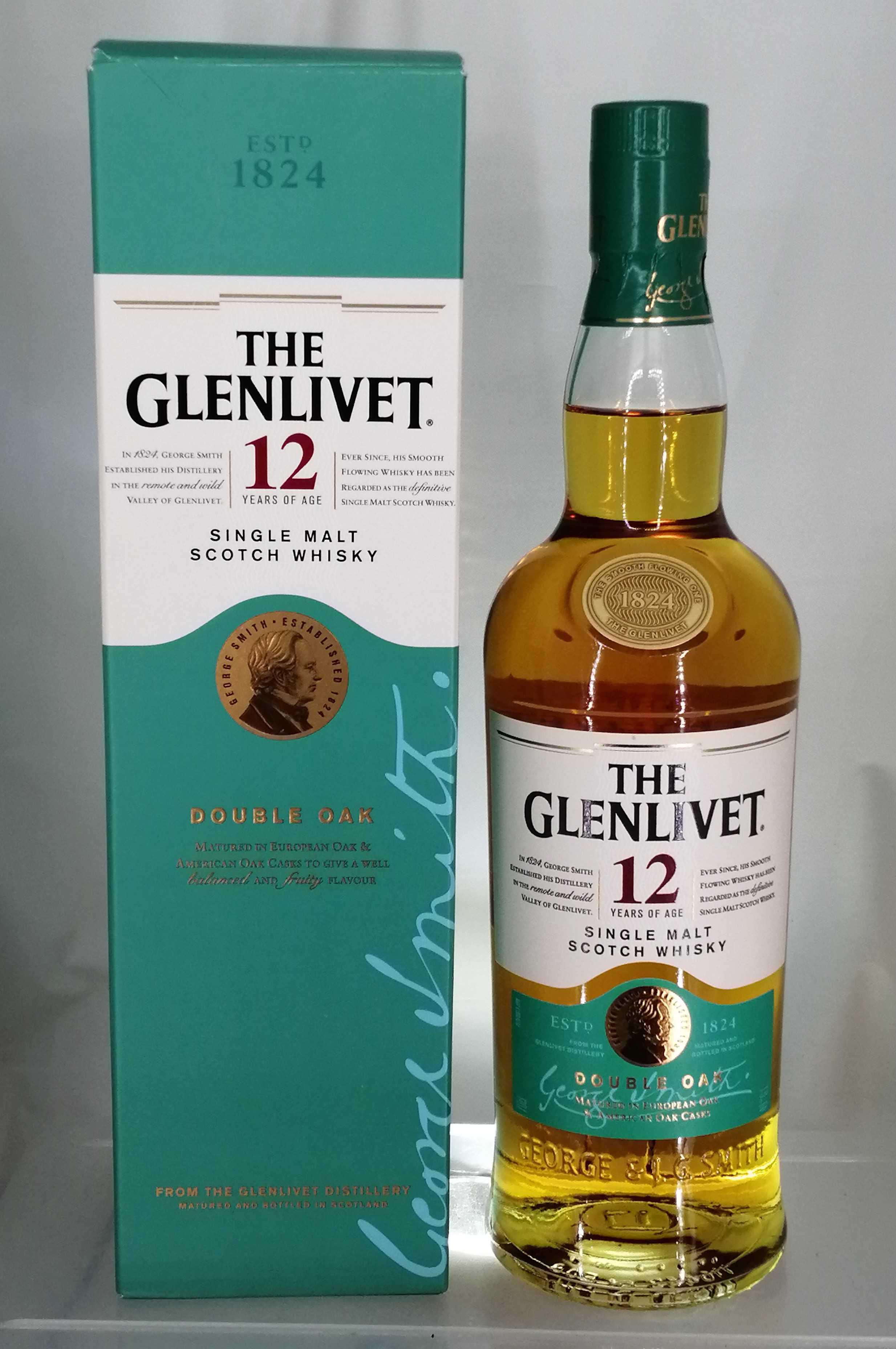 ザ・グレンリベット 12年|GLENLIVET