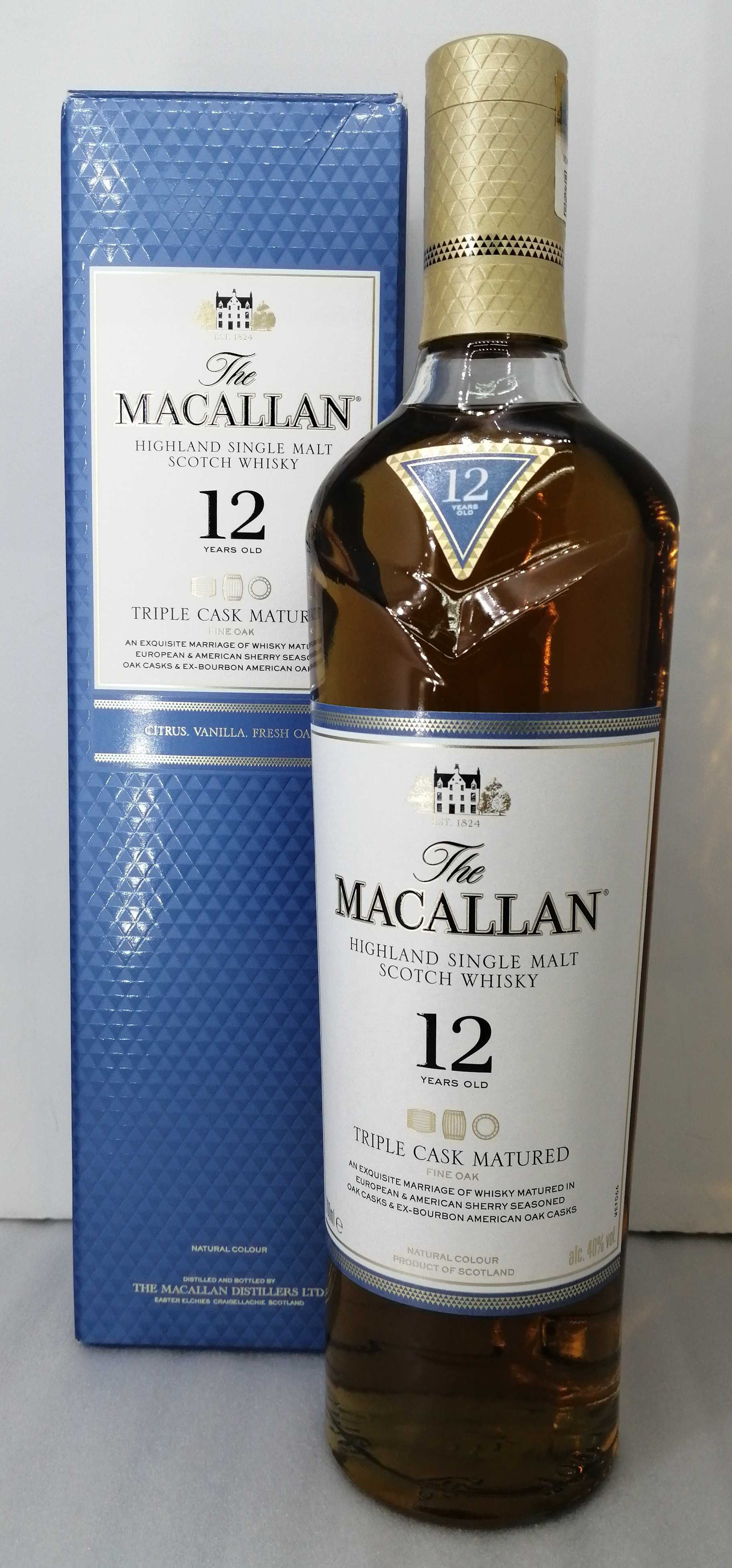 マッカラン 12年|THE MACALLAN