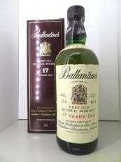 バランタイン 17年 BALLANTINES|BALLANTINE'S