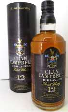 ●クラン キャンベル12年 ハイランダー CLAN CAMPBELL