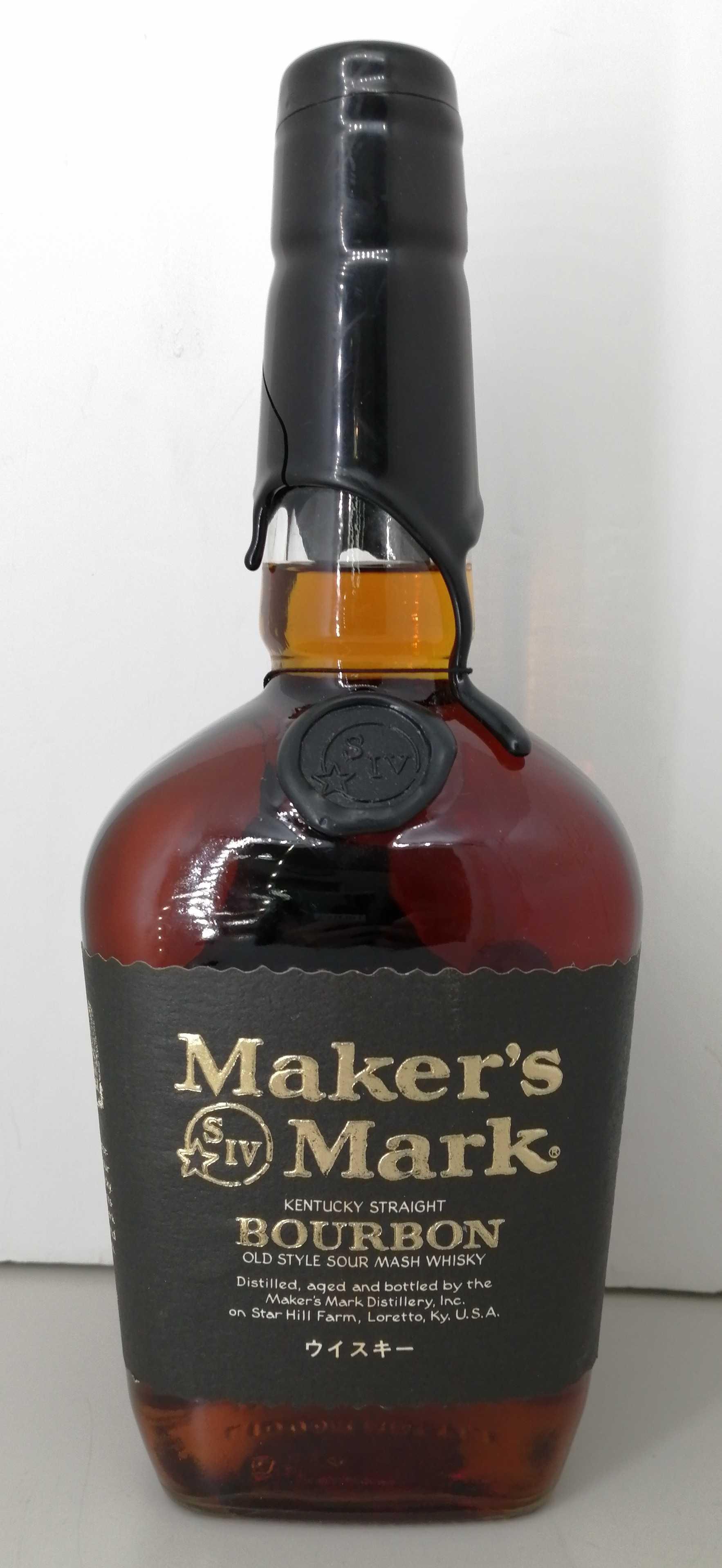 メーカーズマーク ブラックトップ|MAKERS MARK