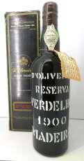 マデラワイン 1900 Pereira d'Oliveira|MADEIRA