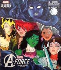 【未開封】A-Force Heroines Figure HASBRO