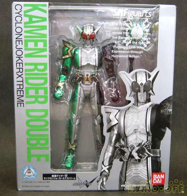 Bandai mercancías Shfiguarts Kamen riderw 4543126322005 ciclón Joker Extreme