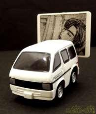【シークレット】チョロQ プロジェクトD 機材車(ホワイト)|TAKARA