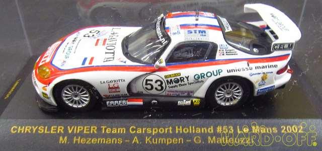 Equipo de víbora marca Carsport 2002 2002 2002 1 escala 43 coche 691a66