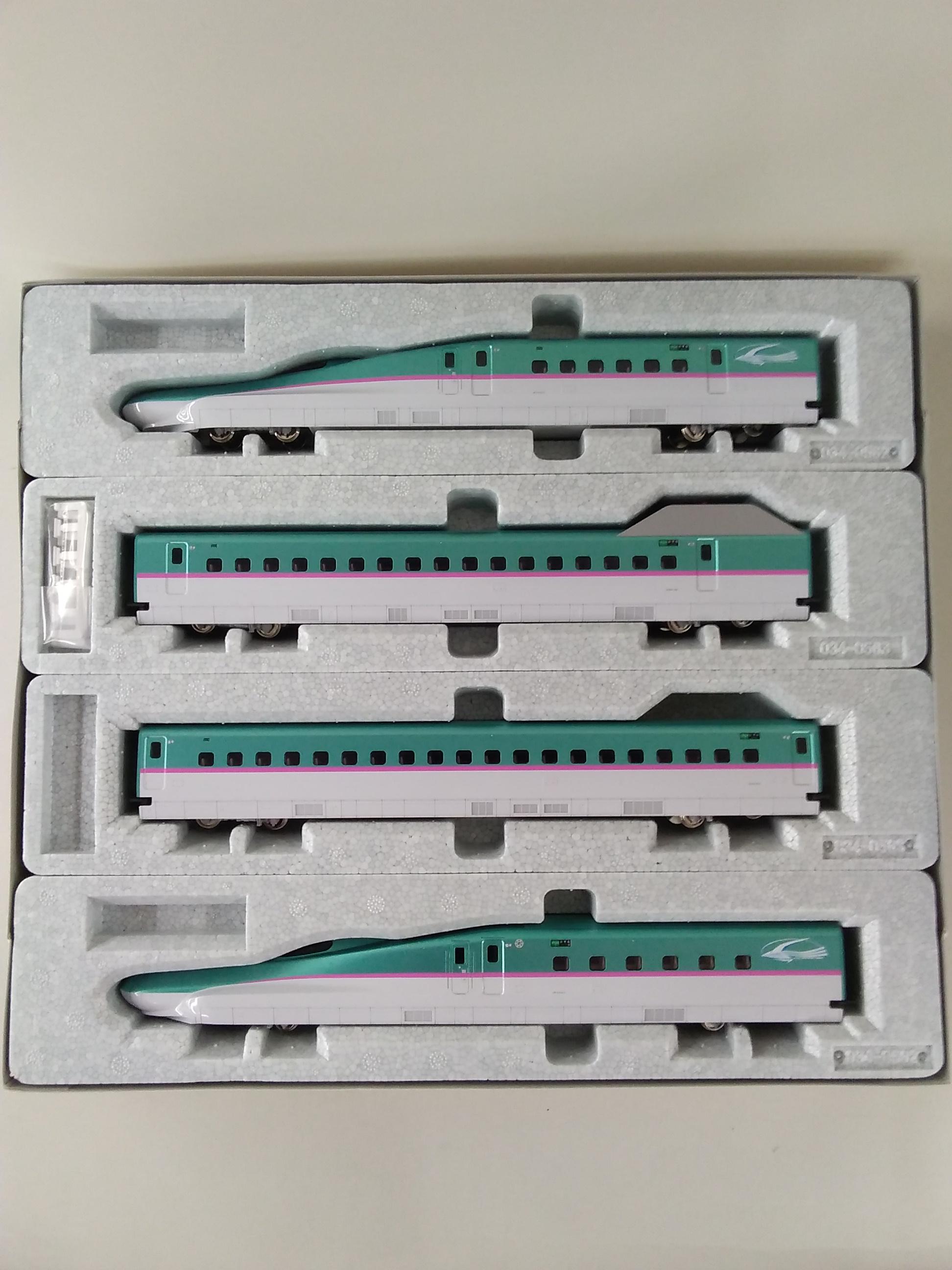 HOゲージ 3-516 E5系 新幹線 はやぶさ 基本 4両|KATO