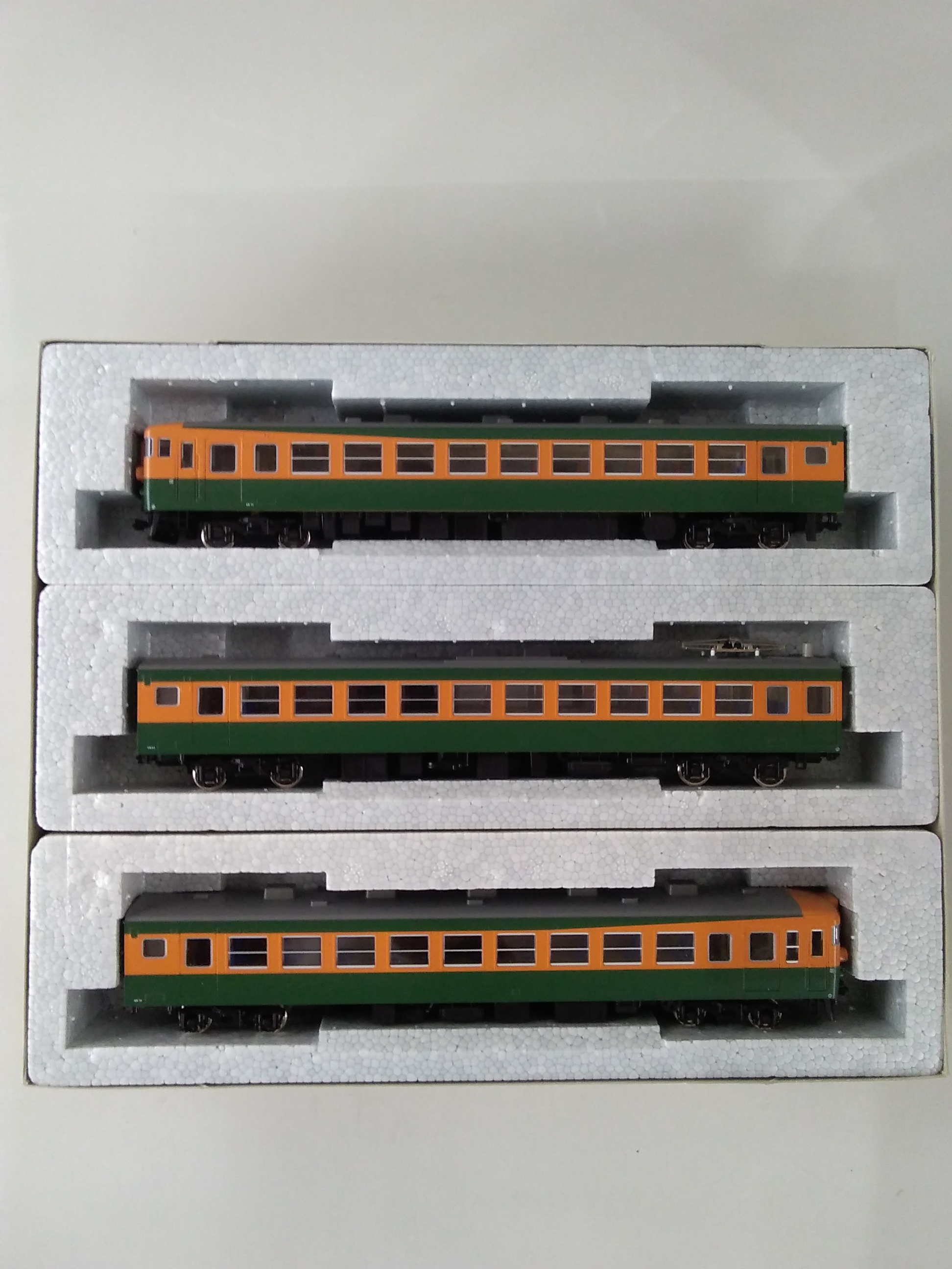 HOゲージ 3-506 165系 急行形電車 増結 3両セッ|KATO