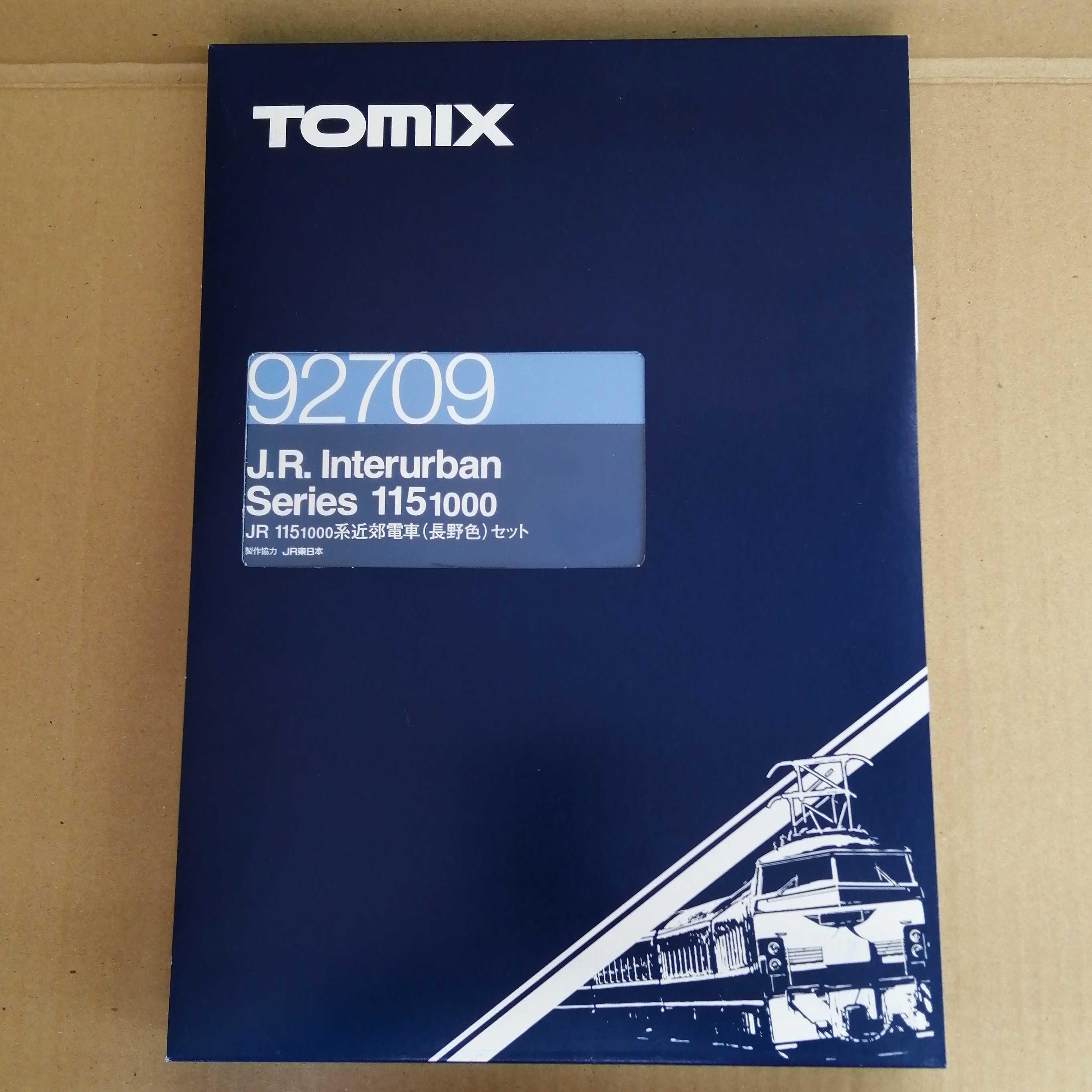 JR 115 1000系近郊電車(長野色)セット TOMIX