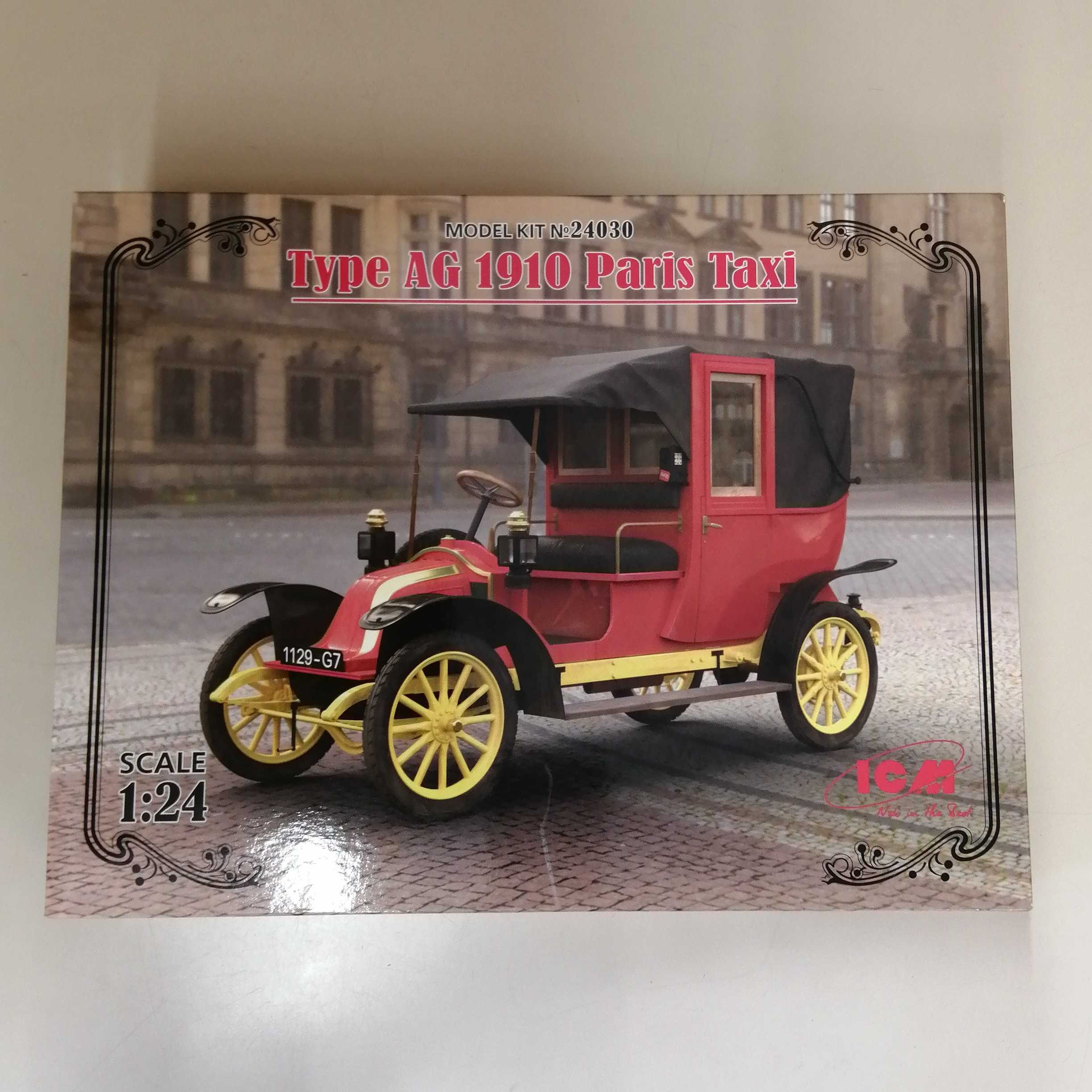 TYPE AG 1910 PARIS TAXI ハセガワ