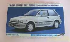 トヨタ スターレット EP71 ターボ〔3ドア〕後期型|HASEGAWA