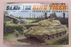 1/35 sd.Kfz.182 キングタイガー ポルシェ砲塔 DRAGON