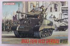 1/35 M4A3(76)W HVSS SHERMAN|DRAGON