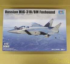 1/72 MiG-31B/BM フォックスハウンド|トランペッター(TRUMPETER)