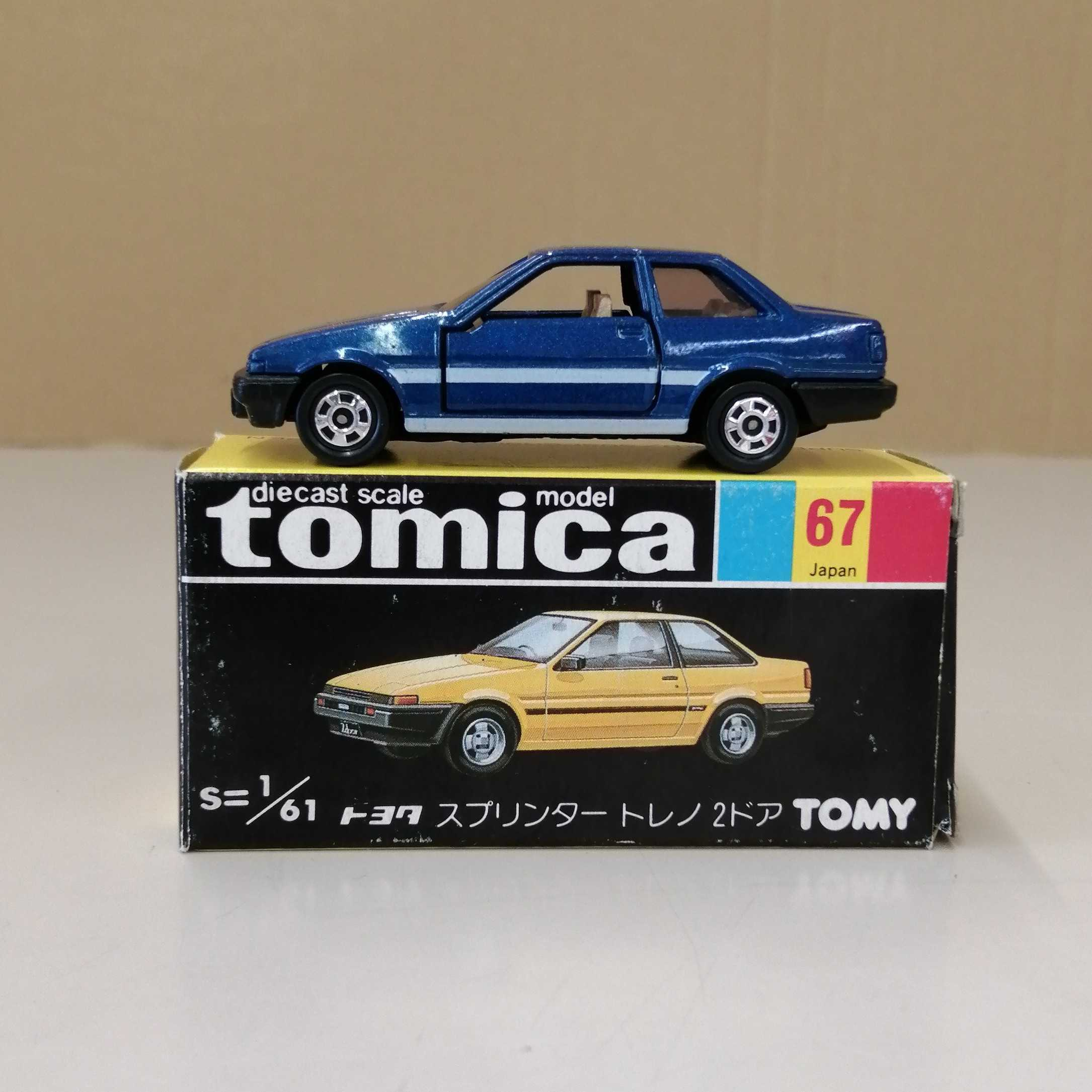 トミカ トヨタ スプリンター トレノ 2ドア トミー