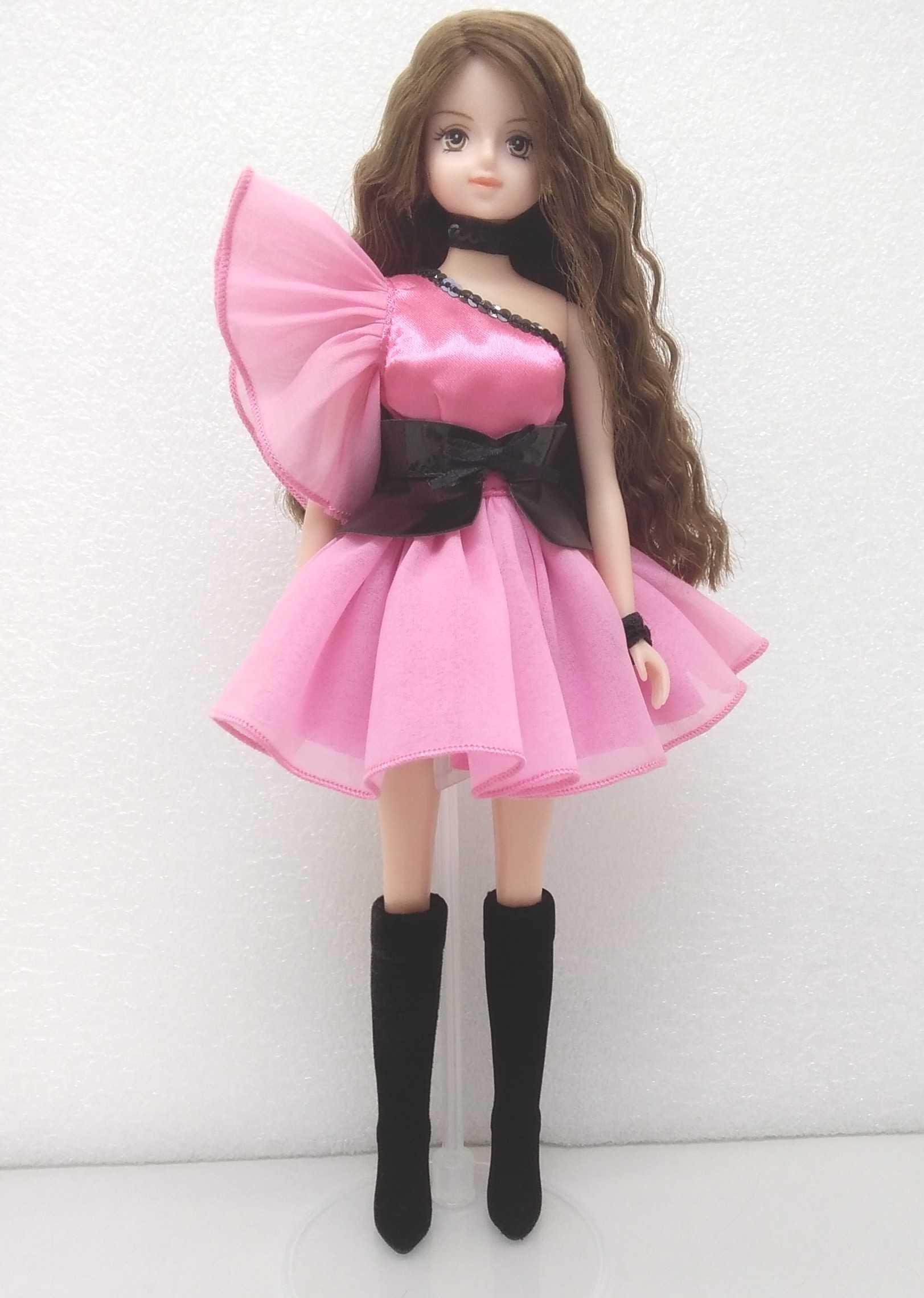 安室奈美恵ドール ピンクドレス|タカラトミー