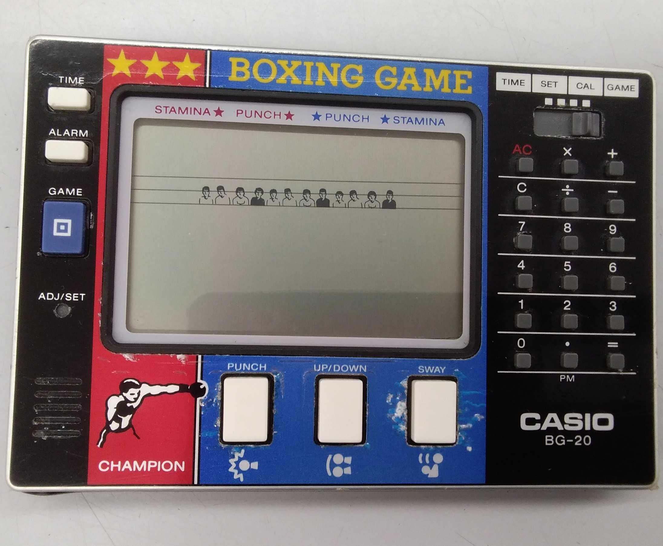 ボクシングゲーム CASIO