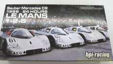 ザウバー メルセデスC9 1989年 hpi-racing