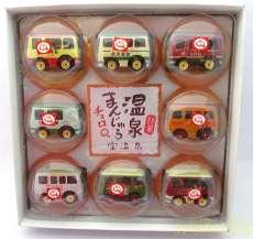 銘菓 温泉まんじゅう チョロQ 8台セッ|TAKARA TOMMY