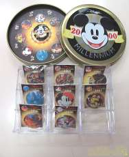 ディズニー ミレニアムカウントダウン缶バッジセット その他ブランド