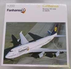 1/200 747-400 FANHANSA|HERPA