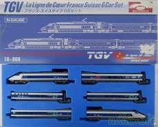 TGVフランス-スイスタイプ6両セット|KATO