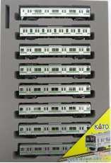 205系(横浜線色)8両セット|KATO
