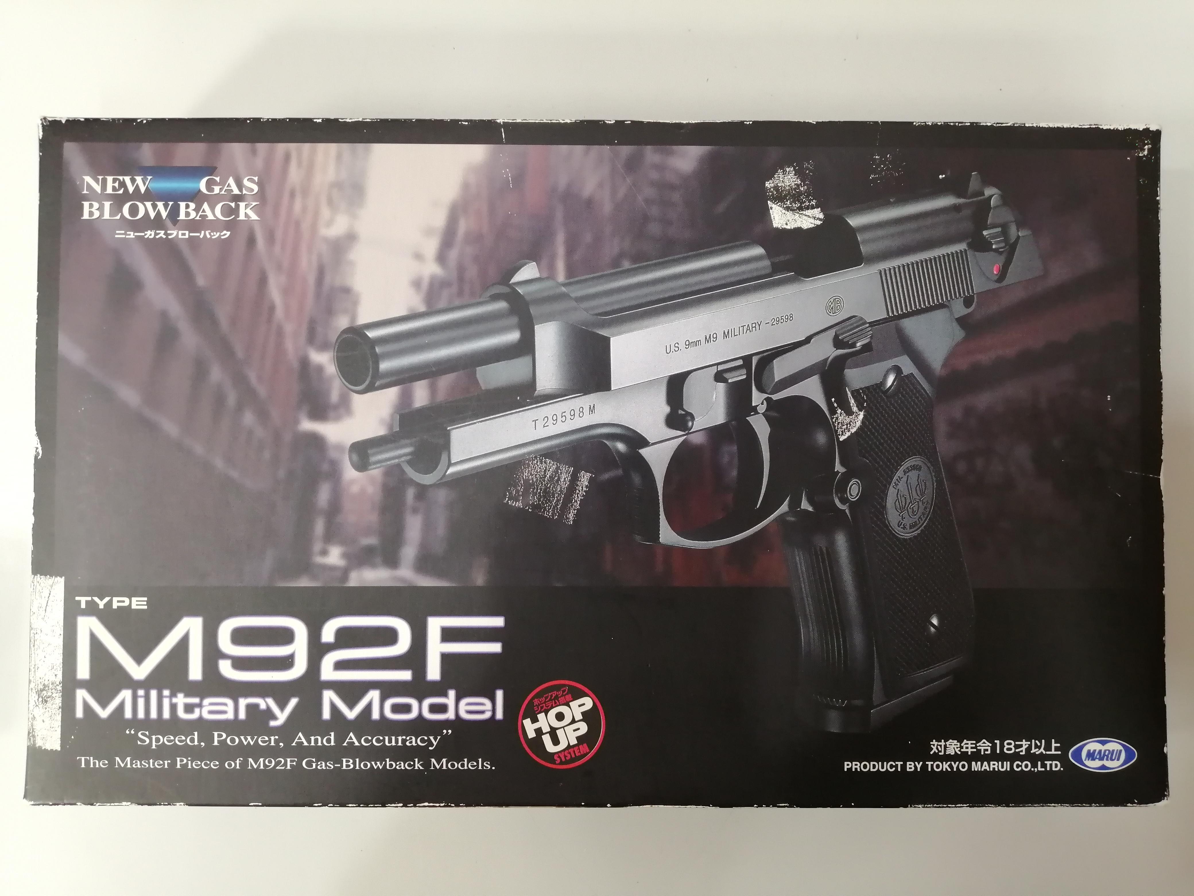 M92F military model|MARUI