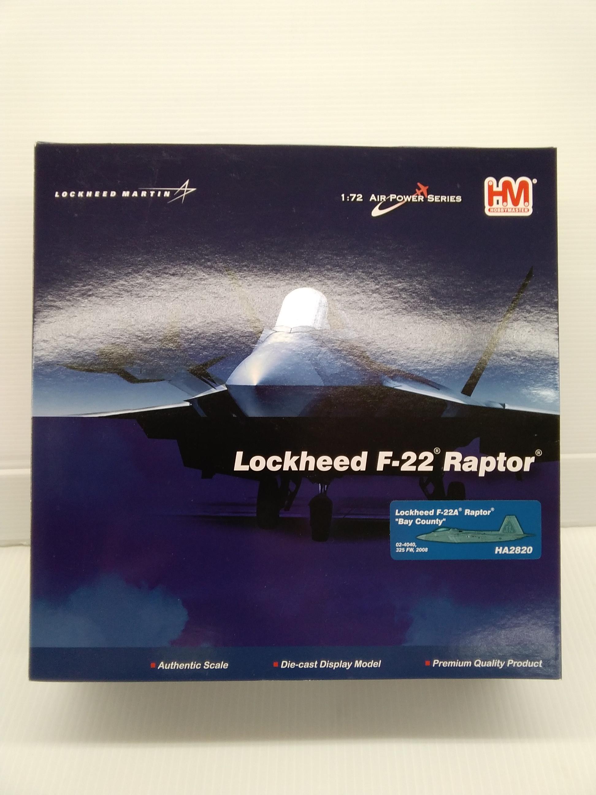 F22 ラプター|HOBBY MASTER