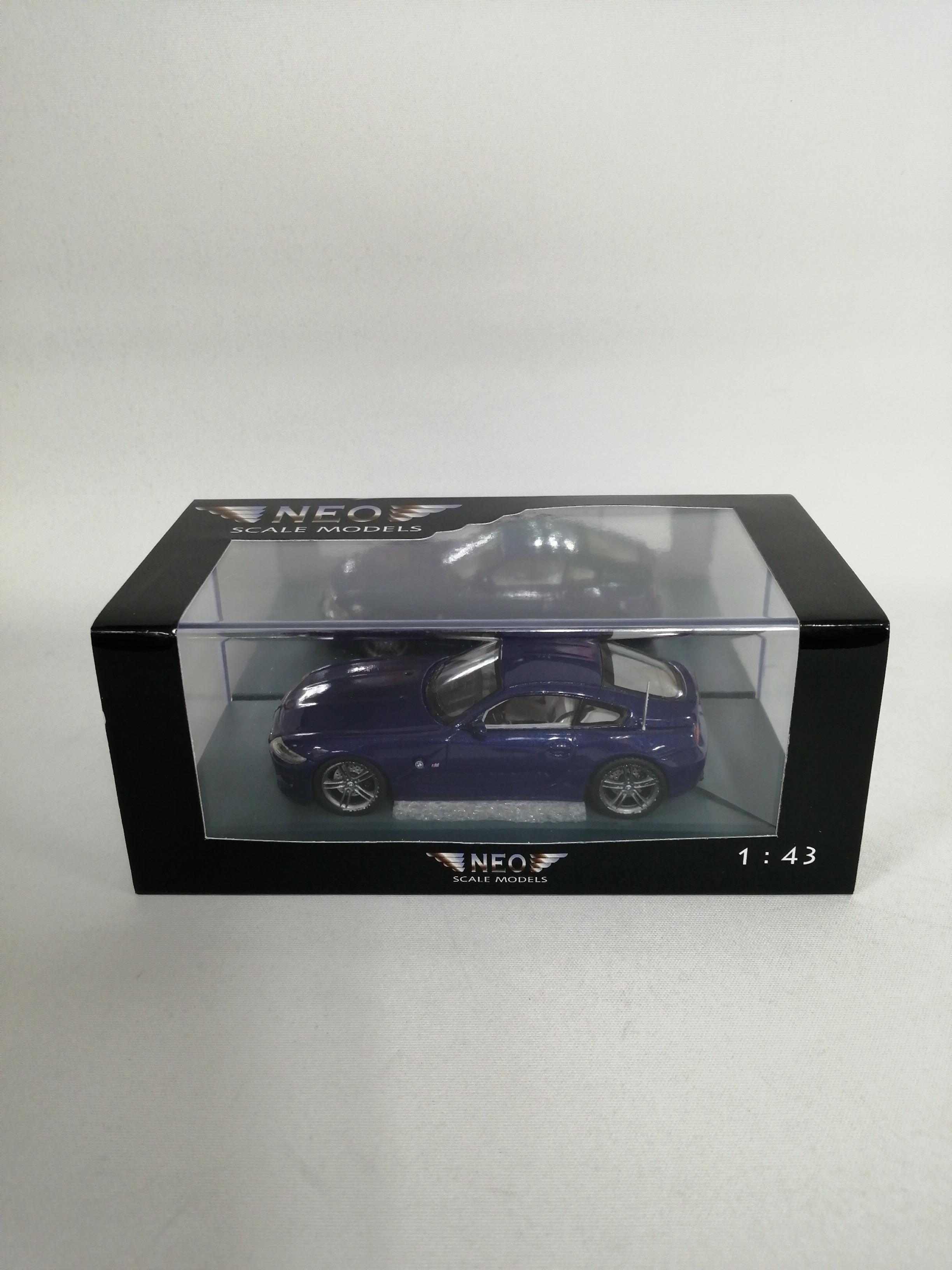 1/43スケール BMW Z4 M COUPE|NEO
