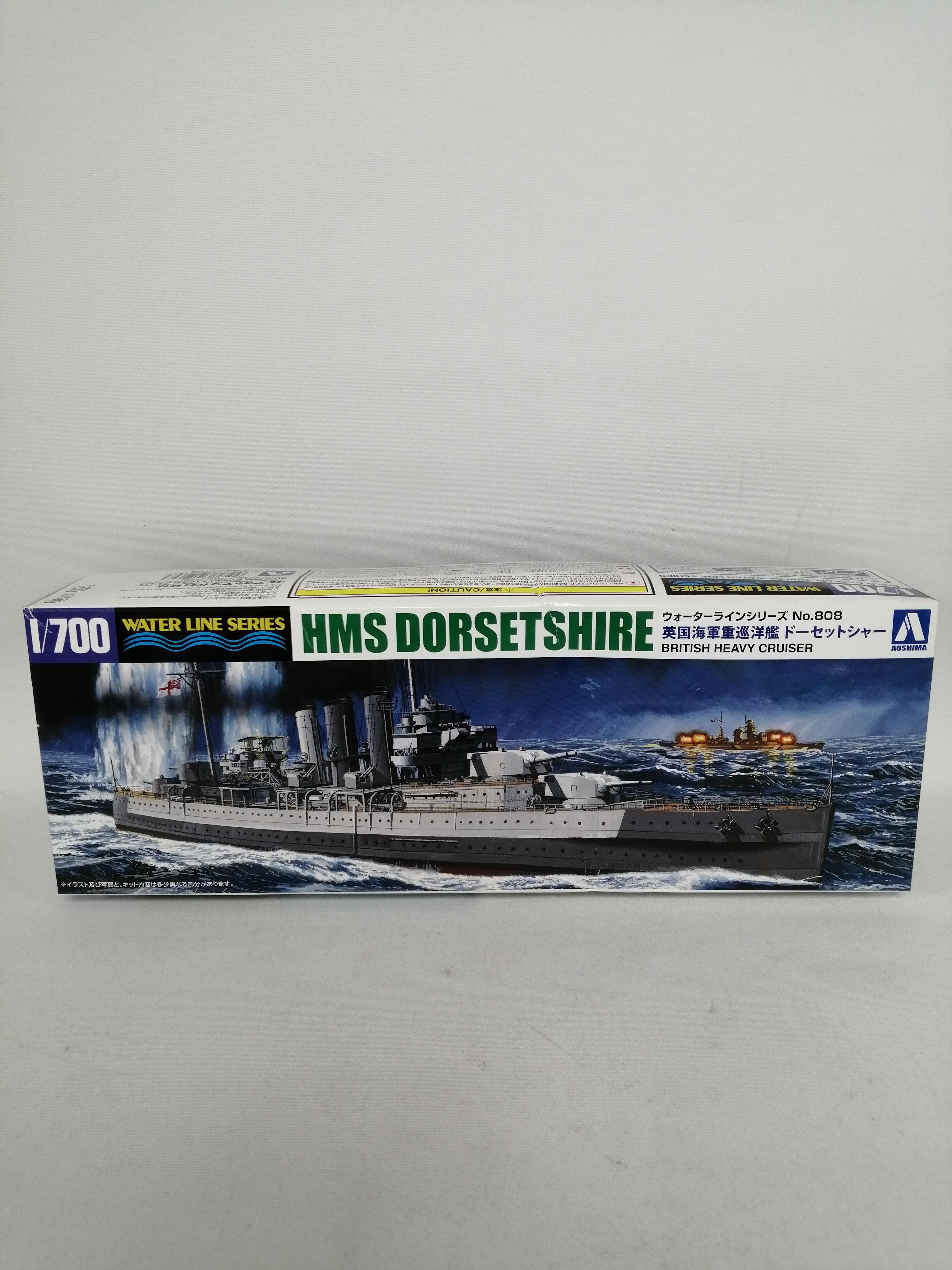 1/700 英国海軍重巡洋艦ドーセットシャー|青島文化教材社
