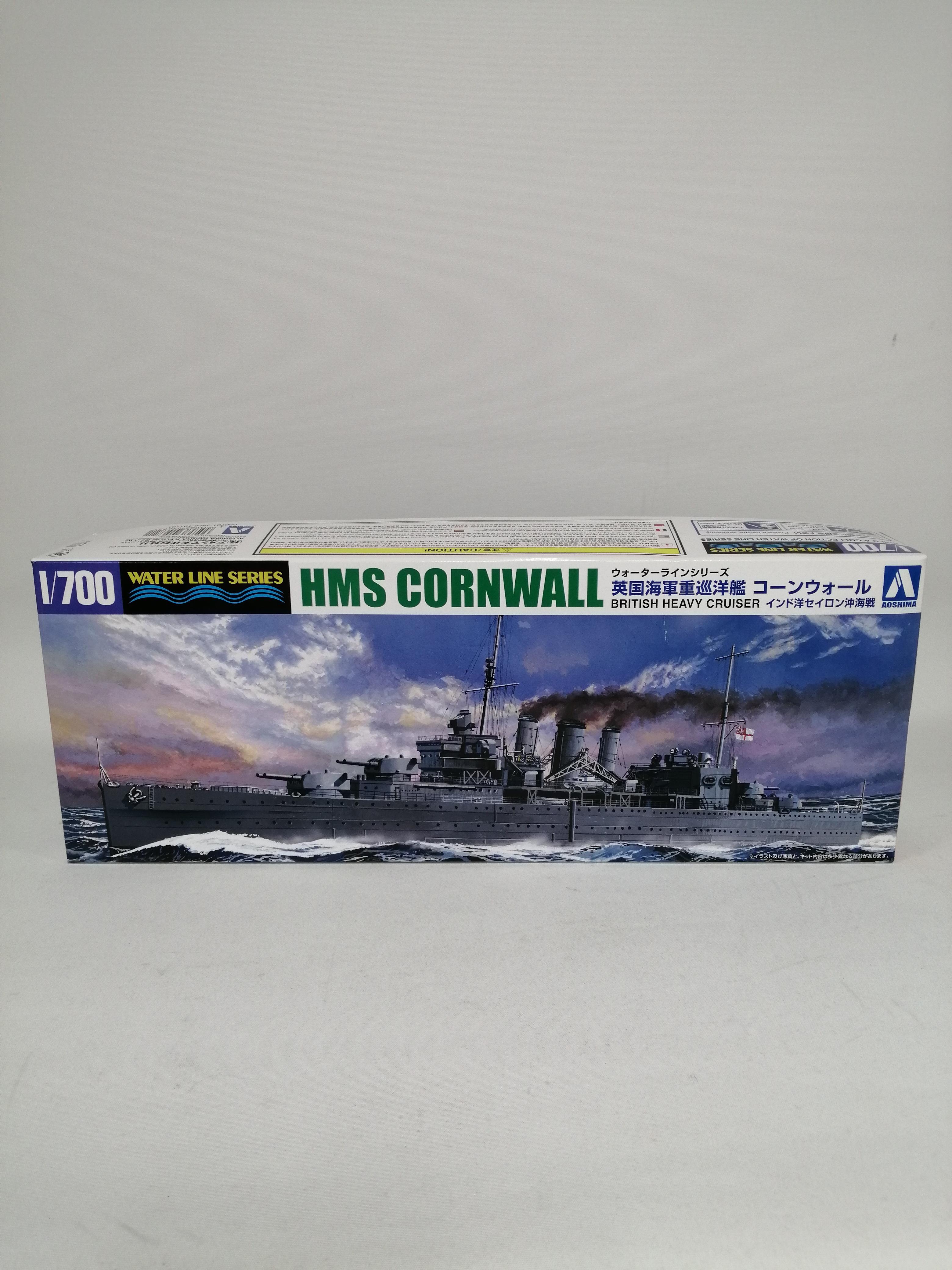 1/700 英国海軍重巡洋艦コーンウォール|青島文化教材社