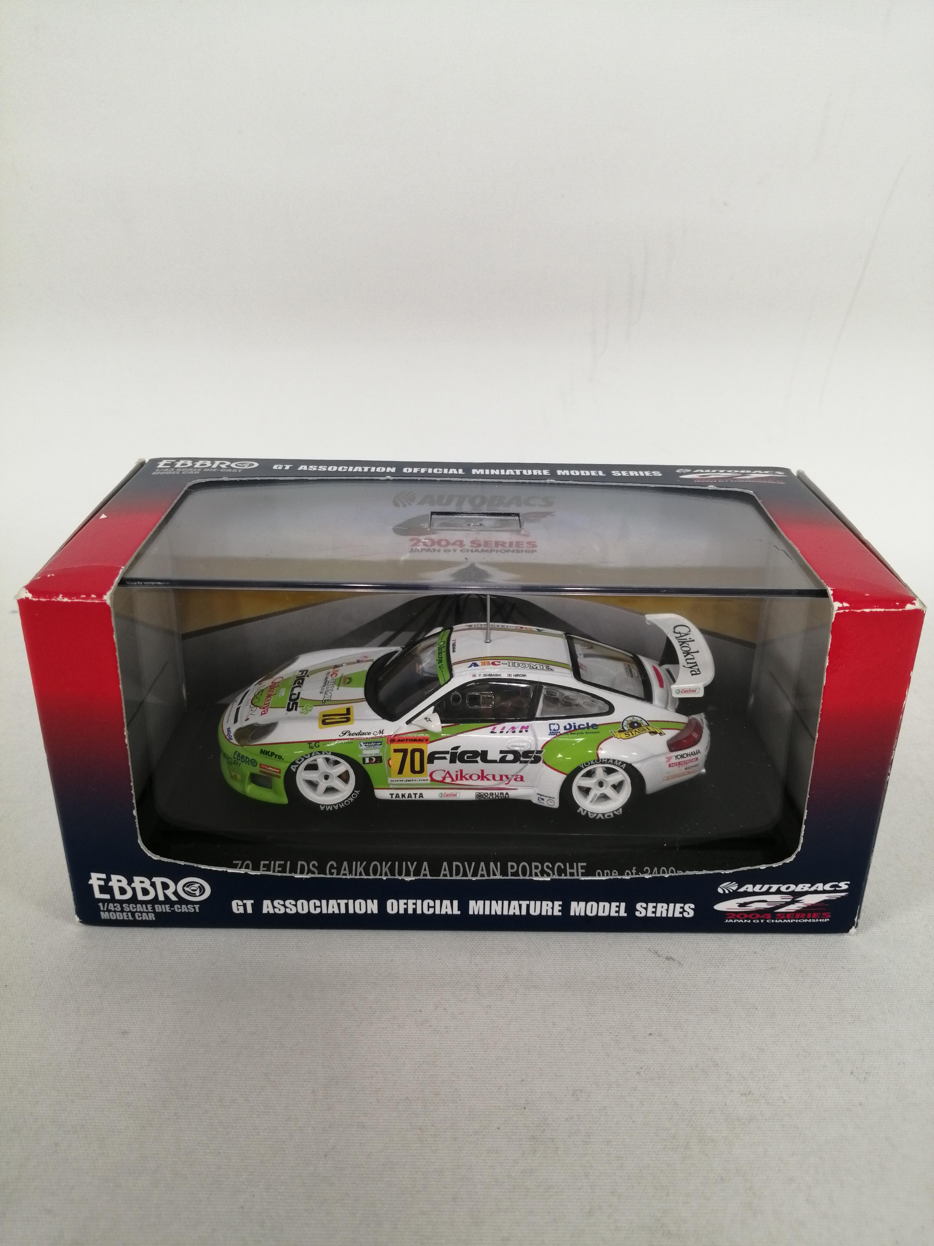 1/43スケールミニカー JGTC2004|EBBRO